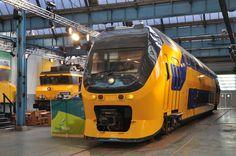 NSR VIRM Kopbak, Spoorparade 175 jaar spoorwegen, Amersfoort, 19-10-2014