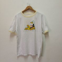 90s Mickey Mouse Flower  Ring Tee shirt