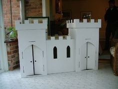 I want to make a reading center with a castle in it..I think this is pretty cool