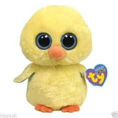 de17741373e TY BEANIE BOOS BOO GOLDIE THE YELLOW CHICK 6