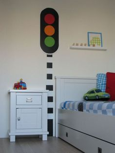 love the idea of a stoplight, but probably would do it a little different.