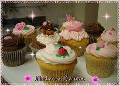 Blueberry Eventos cupcakes