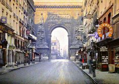 Rare 100 Year Old Colored Photos Of Paris Have Been Discovered And They Are Breathtaking