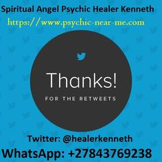Social Media Spiritual Psychic Healer Kenneth, Call, WhatsApp: serves clients worldwide with Online Spiritual Healing, Psychic Readings, Palm Reading…