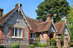 Old village school, Falmer village, near Brighton