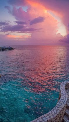 Pic of the Day...Spellbinding 💚💜💙 ----------------- #beach #tropics #sunset #beaches #travel