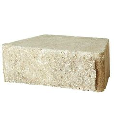Pavestone 4 in. x 12 in. Pecan RockWall Small Concrete Garden Wall Block-87524 at The Home Depot