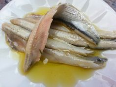 Boquerones anchovis; definitely one of my favorite tapas