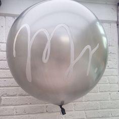 Mr. Wedding balloon