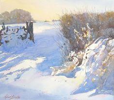 Robert Brindley Drifting snow Egton