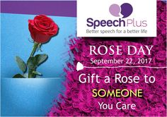 Speech Plus observes Rose day to let all cancer patients aware that they can face the disease with strong willpower and spirit.  This Rose day, gift a Rose to someone you care!  #worldroseday #roseday #internationalroseday #cancerroseday #cancer #cancerawareness #bestrong #speechplus