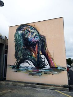 Artist : Hopare. Place : Orsay, France. Tags : street Art, graffiti, urban culture.