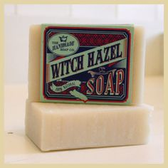 irish handmade soap- witch hazel  ... being a HUGE fan of Witch Hazel, this sounds intriguing