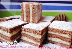 Mézes krémes Audreytól | Nosalty Krispie Treats, Rice Krispies, Cornbread, Vanilla Cake, Tiramisu, Ethnic Recipes, Food, Millet Bread, Essen