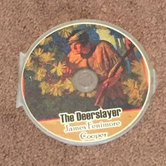 The Deerslayer by James Fenimore Cooper MP3 (CD, Audio Books, Fiction) Brand New