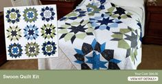 Want!  Swoon Quilt Kit