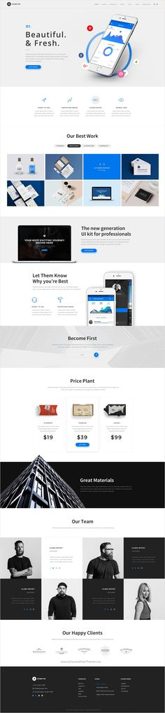 StartUp is a wonderful premium #PSD #template for multipurpose #website with 7 unique homepage layouts and 16 organized PSD files download now➩ https://themeforest.net/item/startup-multipurpose-startup-psd-template/18473132?ref=Datasata