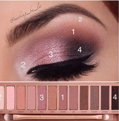 Urban Decay, Naked palette 2