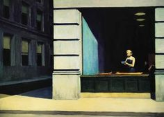 Edward Hopper, New York office (Ufficio a New York) (1962)