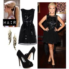 perrie edwards hairstyles | Perrie Edwards Polyvore