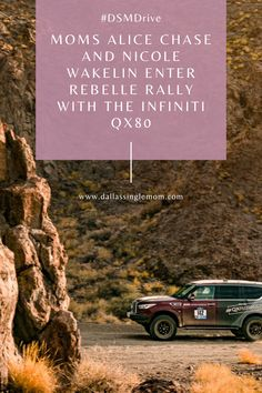 Moms Alice Chase and Nicole Wakelin Enter Rebelle Rally with the Infiniti QX80 Help Me Grow, Finish Line, Long Distance, Rally, Something To Do, Alice, Mom, Cars, Football Pitch