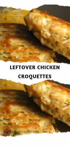 Leftover Chicken Croquettes – Page 2 – One Of Recipe - Recipe - Chicken Recipes Roasted Chicken Leftover Recipes, Cooked Chicken Recipes Leftovers, Leftover Rotisserie Chicken, Leftovers Recipes, Healthy Chicken Recipes, Cooking Recipes, Recipe Chicken, Bbq Chicken, Shredded Chicken