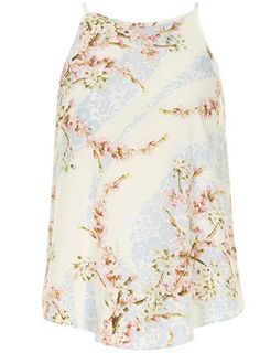 Pink and blue floral cami, Dorothy Perkins