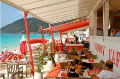 The Rainbow Cafe in St. Martin