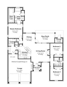 1803 - 55 floor plan french country house plan.jpg 618×800 pixels