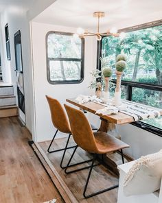 Tour this Modern RV Remodel filled with Scandinavian Coziness Campervan Interior If you are thinking about a Scandinavian RV Remodel, you can do it yourself. The first thing you need to know is that the Scandinavian nations are ver. House, Small Spaces, Interior, Home, Remodel, Tiny House Living, Rv Remodel, Home And Living, Camper Living