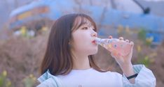 "Watch: Apink's Jung Eun Ji Signals The Arrival Of ""The Spring"" In New MV 