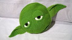 Master Yoda Baby Pillow Pattern PDF with by stepbystepatterns
