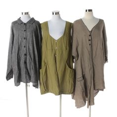 8a7b4e1befa Women s Dresses and Jacket Including Flax By Jeanne Engelhart and Gudrun  Sjödén