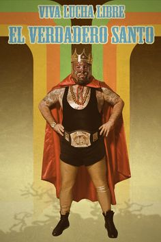 VIVA LUCHA LIBRE - EL VERDADERO SANTO www.facebook.com/tokuehnefotografie #lucha libre #wrestling #tokuehne