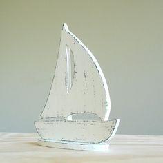 Distressed Sail Boat