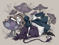 The last work on this theme for now, if I'm going to do something else to Alice, most likely that it will be a fanart to McGee's Alice and Alice Madness Returns This is the upgrade of my old ...