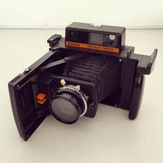Konica Instant Press camera