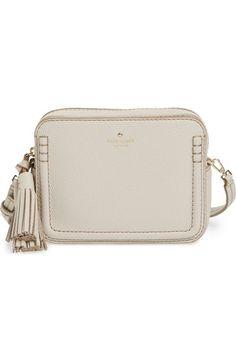 KATE SPADE 'Orchard Street - Arla' Crossbody Bag. #katespade #bags #shoulder bags #leather #crossbody #linen #lining #
