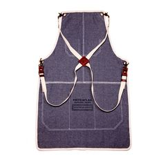Knife & Flag denim apron