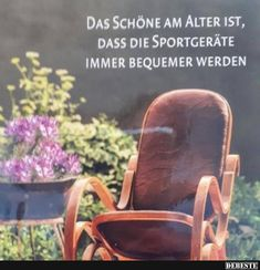 Das Schöne am Alter ist dass die Sportg… – Home Decor Wholesalers Dance Quotes, Real Life, Coaching, Abs, Cool Stuff, Funny, Pictures, Armchair, Meditation
