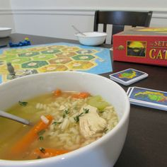 Gluten Free Chicken and Rice Soup for #weekdaysupper