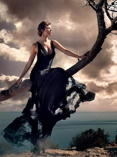Maryna Linchuk by Vincent Peters for Harper's Bazaar UK September 2015