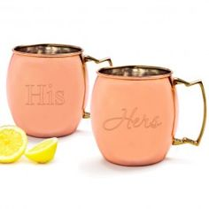 Cathy's Concepts Monogram Moscow Mule Copper Mugs (Set of Copper Moscow Mule Mugs, Copper Mugs, Mugs For Sale, Brass Handles, Mugs Set, Custom Engraving, Drinkware, Barware, Anniversary Gifts