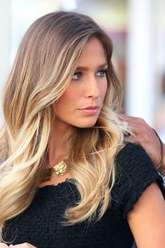 this would be the best ombre color for me.