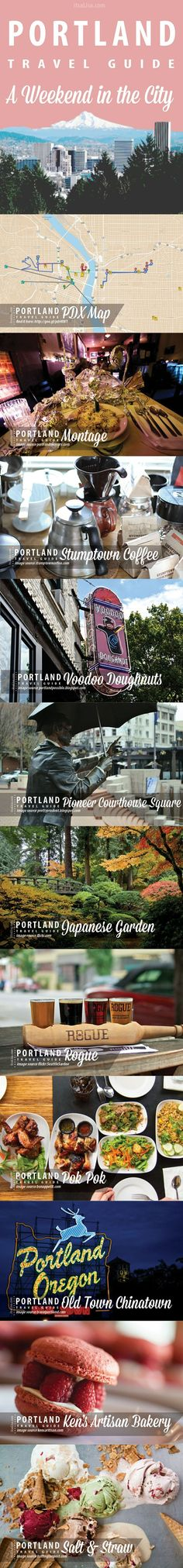 Portland City Guide - A Weekend in the City