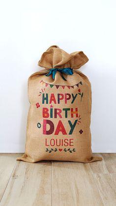 extra large! Cadeau personnalisé papier d/'emballage Mme Browns garçons anniversaire tout nom