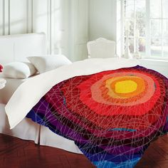 DENY Designs Home Accessories | Raven Jumpo Tie Die Madness Duvet Cover. If only I were made of money!