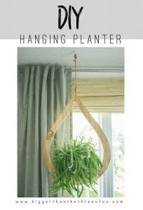 DIY Hanging Planter | Easy Woodworking Projects
