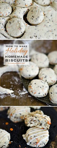 How to Make Homemade Southern Biscuits. A Simple Holiday Breakfast Recipe! Perfect recipe idea for Halloween or Thanksgiving!