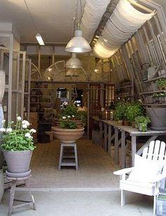 An English potting shed.